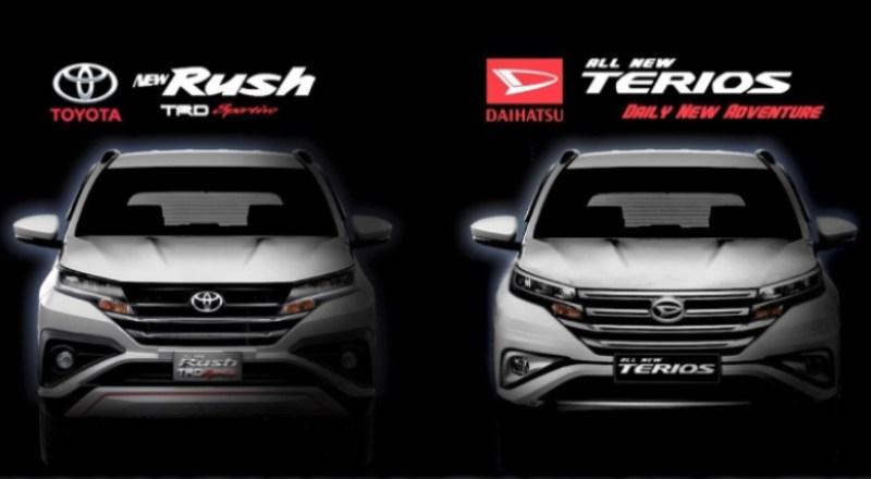 Penjualan Daihatsu Terios dan Toyota Rush Terus Meningkat
