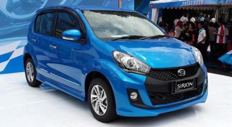 Daihatsu Sirion Baru Diluncurkan di Indonesia