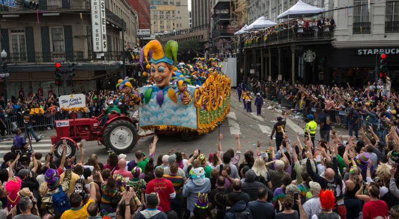 Mardi Gras, Karnaval Unik di New Orleans