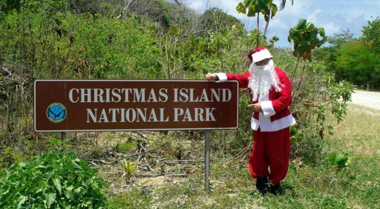 Keindahan Pulau Natal, Keajaiban Alam di Samudra Pasifik